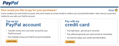 paypal in english