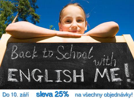 BACK TO SCHOOL akce - 25% sleva na všechny objednávky