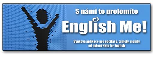 Nová aplikace pro výuku angličtiny od autorů Help for English!